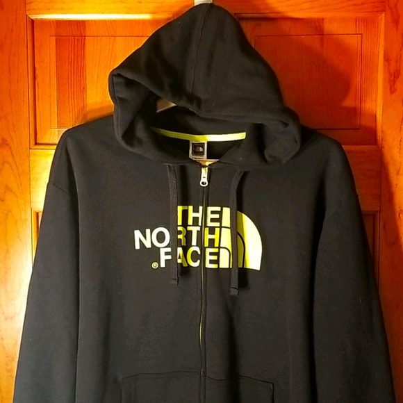 THE NORTH FACE ZIP UP HOODIE XXL
